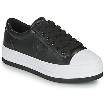 kengät Naiset Matalavartiset tennarit Guess BRODEY3 Musta