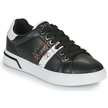 kengät Naiset Matalavartiset tennarit Guess REEL Musta