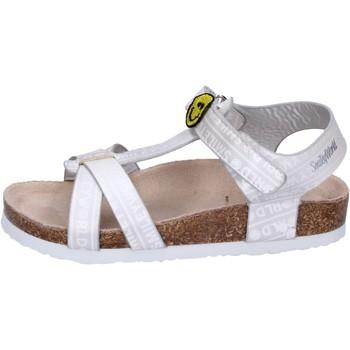 kengät Tytöt Sandaalit ja avokkaat Smiley Sandali Pelle sintetica Argento