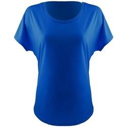 vaatteet Naiset Lyhythihainen t-paita Next Level NX1560 Royal Blue