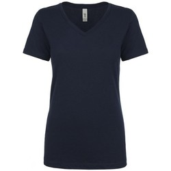vaatteet Naiset Lyhythihainen t-paita Next Level NX1540 Midnight Navy