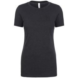 vaatteet Naiset Lyhythihainen t-paita Next Level NX6610 Charcoal
