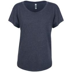 vaatteet Naiset Lyhythihainen t-paita Next Level NX6760 Vintage Navy