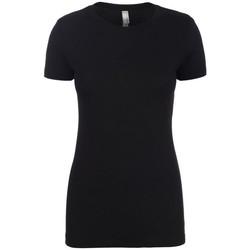 vaatteet Naiset Lyhythihainen t-paita Next Level NX6610 Black
