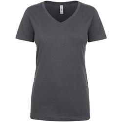 vaatteet Naiset Lyhythihainen t-paita Next Level NX1540 Dark Grey