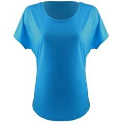 vaatteet Naiset Lyhythihainen t-paita Next Level NX1560 Turquoise