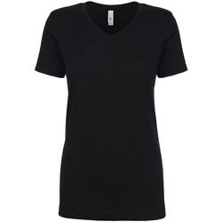 vaatteet Naiset Lyhythihainen t-paita Next Level NX1540 Black