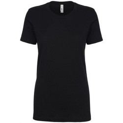vaatteet Naiset Lyhythihainen t-paita Next Level NX1510 Black