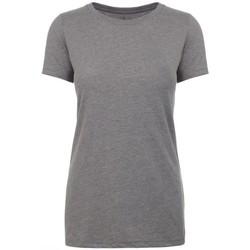 vaatteet Naiset Lyhythihainen t-paita Next Level NX6610 Dark Heather Grey