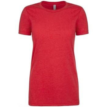 vaatteet Naiset Lyhythihainen t-paita Next Level NX6610 Red