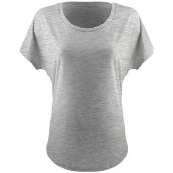 vaatteet Naiset Lyhythihainen t-paita Next Level NX1560 Heather Grey