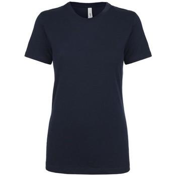 vaatteet Naiset Lyhythihainen t-paita Next Level NX1510 Midnight Navy