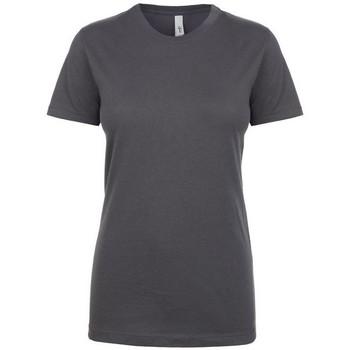 vaatteet Naiset Lyhythihainen t-paita Next Level NX1510 Dark Grey