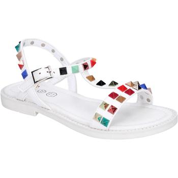 kengät Tytöt Sandaalit ja avokkaat Joli BK530 Valkoinen