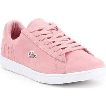 kengät Naiset Matalavartiset tennarit Lacoste Carnaby EVO 318 4 7-36SPW001213C pink