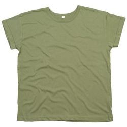 vaatteet Naiset Lyhythihainen t-paita Mantis M193 Olive