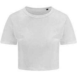 vaatteet Naiset Lyhythihainen t-paita Awdis JT006 Solid White