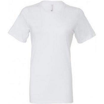 vaatteet Naiset Lyhythihainen t-paita Bella + Canvas BL6400 White