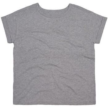 vaatteet Naiset Lyhythihainen t-paita Mantis M193 Heather Marl