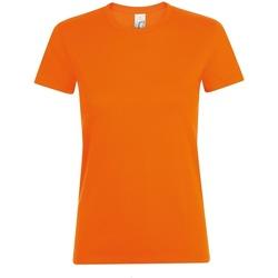 vaatteet Naiset Lyhythihainen t-paita Sols 01825 Orange