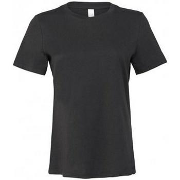 vaatteet Naiset Lyhythihainen t-paita Bella + Canvas BL6400 Dark Grey
