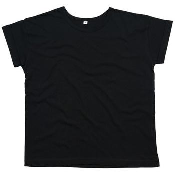 vaatteet Naiset Lyhythihainen t-paita Mantis M193 Black