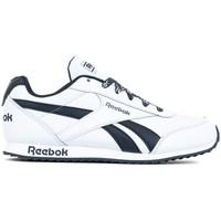 kengät Lapset Matalavartiset tennarit Reebok Sport Royal Cljog 2 Valkoiset, Tummansininen