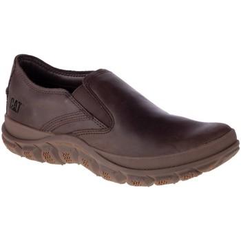 kengät Miehet Mokkasiinit Caterpillar Fused Slip ON Ruskeat