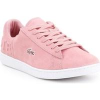 kengät Naiset Matalavartiset tennarit Lacoste Carnaby Evo Vaaleanpunaiset