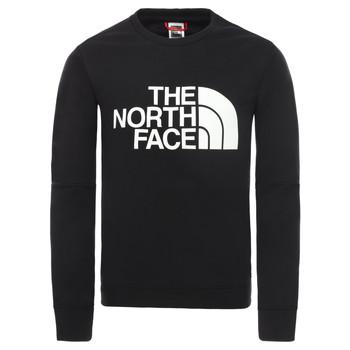vaatteet Pojat Svetari The North Face DREW PEAK LIGHT CREW Musta