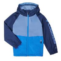 vaatteet Pojat Pusakka Columbia DALBY SPRINGS JACKET Sininen