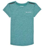 vaatteet Tytöt Lyhythihainen t-paita Columbia TECH TREK Vihreä