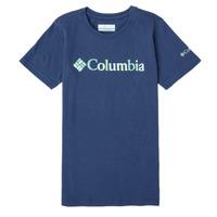 vaatteet Tytöt Lyhythihainen t-paita Columbia SWEET PINES GRAPHIC Laivastonsininen