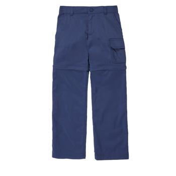 vaatteet Tytöt 5-taskuiset housut Columbia SILVER RIDGE IV CONVTIBLE PANT Laivastonsininen