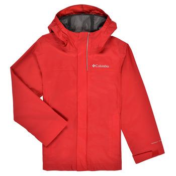 vaatteet Pojat Pusakka Columbia WATERTIGHT JACKET Punainen