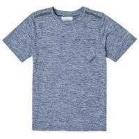 vaatteet Pojat Lyhythihainen t-paita Columbia TECH TREK Laivastonsininen