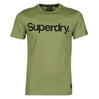 vaatteet Miehet Lyhythihainen t-paita Superdry MILITARY GRAPHIC TEE 185 Lieutenant / Oliivi