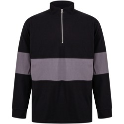 vaatteet Neulepusero Front Row FR06M Black/Charcoal