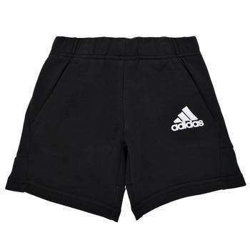 vaatteet Pojat Shortsit / Bermuda-shortsit adidas Performance B BOS SHORT Musta