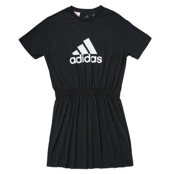 vaatteet Tytöt Lyhyt mekko adidas Performance G DANCE DRESS Musta