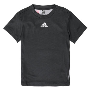 vaatteet Pojat Lyhythihainen t-paita adidas Performance B A.R. TEE Musta