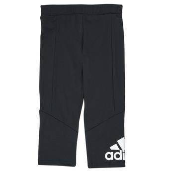 vaatteet Tytöt Legginsit adidas Performance G BL 34 TIG Musta