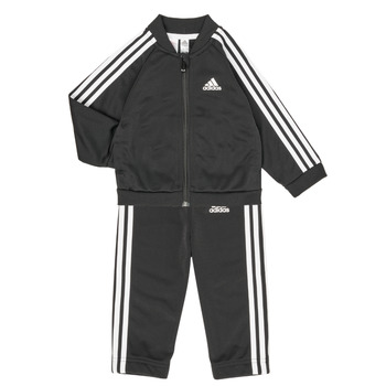 vaatteet Lapset Kokonaisuus adidas Performance 3S TS TRIC Musta
