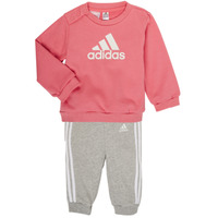 vaatteet Tytöt Kokonaisuus adidas Performance BOS JOG FT Vaaleanpunainen