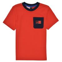vaatteet Pojat Kokonaisuus adidas Performance LB DY SHA SUM Punainen / Laivastonsininen