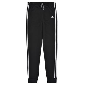 vaatteet Tytöt Verryttelyhousut adidas Performance G 3S FT C PT Musta
