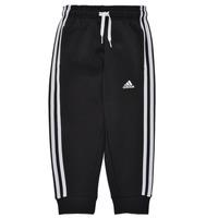 vaatteet Pojat Verryttelyhousut adidas Performance B 3S FL C PT Musta