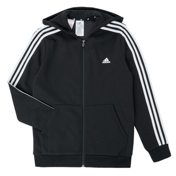 vaatteet Pojat Svetari adidas Performance B 3S FZ HD Musta