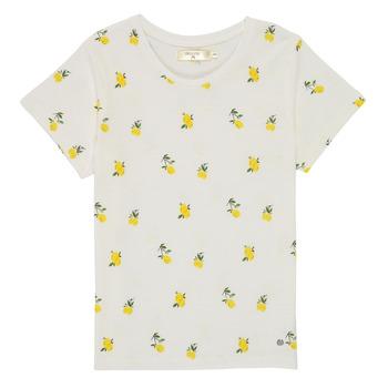 vaatteet Tytöt Lyhythihainen t-paita Deeluxe NADY Valkoinen
