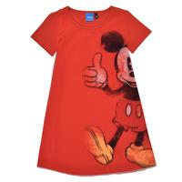 vaatteet Tytöt Lyhyt mekko Desigual 21SGVK41-3036 Punainen